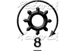 Fotografia produktu HITACHI S114-802A, JS1100 =S114-802 ORIGINAL NEW HITACHI